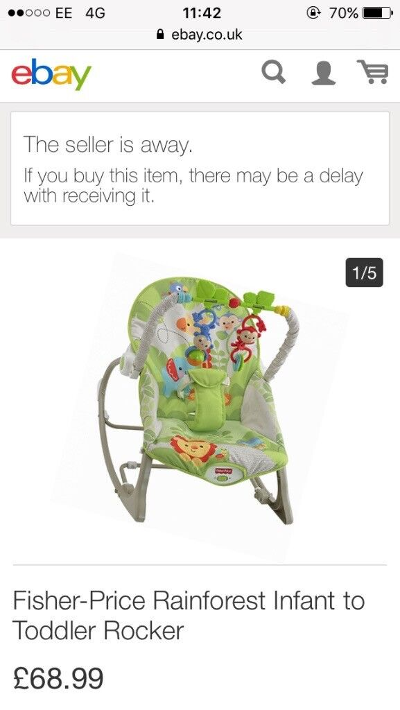 Used chair /toddler rocker
