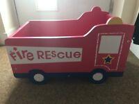 Next fire engine toy box