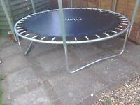 Plum trampoline base