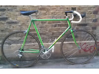 Vintage racing bike VELO SPRINT frame size 23inch - Turbo SADDLE, Miche, Cinelli Bar, serviced MINT
