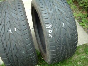 pneu usages