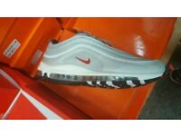 """Nike Air Max 97 """"Silver Bullet"""" Trainers all sizes, Free delivery"""