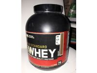 Gold Standard and Syntha-6 protein for sale