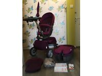 Stokke Explory V4 Pushchair Carrycot Seat Extras Purple