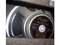"Vintage Marshall celestion G12 speaker 12"" driver"