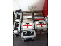 job lot of mixed and house and trance records