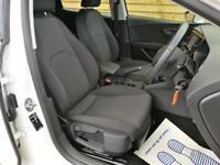 Seat Leon 1.2 TSI 110 SE 5dr [Technology Pack] SAT NAV (soft white) 2014