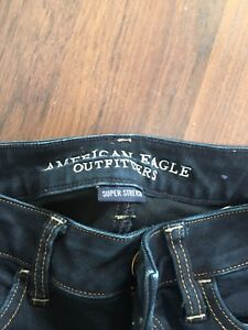 American Eagle super stretch jeans (tapered)
