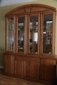 China Cabinet and Record Player