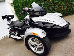 2008 CAN-AM SPYDER RS-S SM5 W/HINDLE EXHAUST ✅ ÉCHANGE