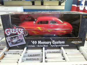 ERTL 1:18 Scale 49 Mercury Custom From The Movie Grease