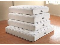 MEMORY FOAM POCKET SPRUNG MATTRESSES ALL SIZES BRAND NEW FREE DELIVERY