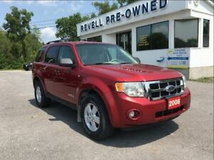 2008 Ford Escape XLT  *1-owner V6   AS TRADED