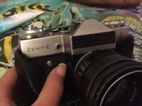 Zenit-E camera with Helios-44-2 lens