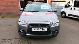 MITSUBISHI ASX 4WD 1.8 DIESEL A/C LEATHER FSH REV/CAM BT CRUISE STOP/START 2011