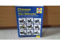 Haynes 4871 Motorbike Manual for Service & Repair. Chinese Motorcycles