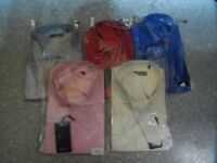 Wholesale Job Lot of 10 Shirts with matching Tie with diamante trim. Various sizes/colours.
