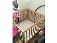 Wooden Play Pen by Baby Dan from John Lewis