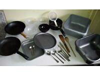 Houseware - Kitcheware - pots - pans - wok - cutlery
