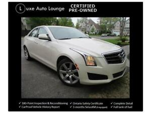 2014 Cadillac ATS BOSE, LEATHER, SUNROOF, HEATED POWER SEATS!!