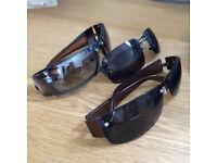 3 pairs of sunglasses.