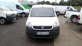 Peugeot Partner 850 1.6 Hdi 92 Professional Van DIESEL MANUAL WHITE (2015)