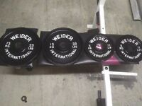 Olympic cast iron weight plates 40kg