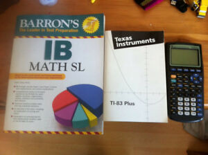 IB SL Math supplies