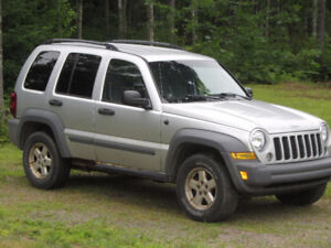 '05 Jeep Liberty for Parts or Repair