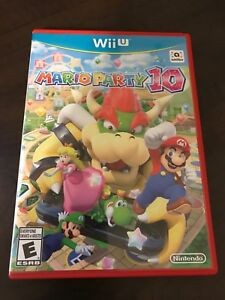 Mario Party 10 Wii U like new