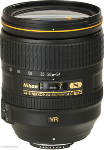 Nikon AF-S 24-120mm F4 ED VR for sale