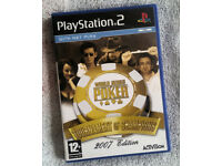 PS2 Game - World Series of Poker : Tournament of Champions 2007 Edition