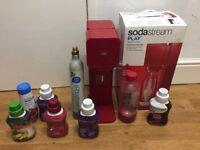 Soda stream full set up