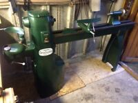 woodturning lathe Union Graduate extra long bed special 3 deliver uk