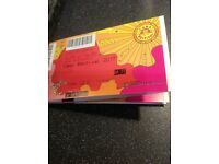 Camp bestival car parking ticket
