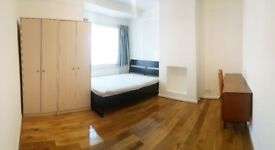 ☆ Large & Clean Double Room with Garden ☆