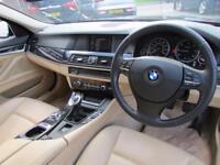 BMW 5 SERIES 2.0 520D EFFICIENTDYNAMICS 4d 181 BHP (black) 2012