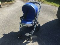 BABYSTYLE OYSTER 2 PRAM & PUSHCHAIR / CARRYCOT / CAR SEAT