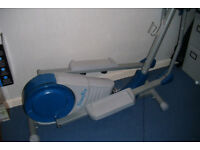 fitness first cross trainer electronic hart monitar very heavey everything works can be seen workink