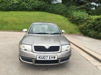 **SKODA SUPERB ELEGANCE TDI 115 1.9 DIESEL 4 DOOR SALOON (2007 YEAR)**