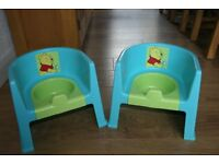 Disney potty chairs