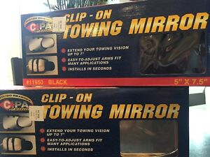 CLIP ON TOWING MIRRORS