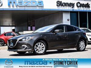 2014 Mazda MAZDA3 SPORT GS, 0.65% FIN, SUN, HEATED, 1 OWNER, ACC