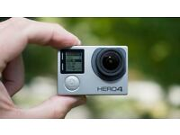 go pro hero 4 black in excellent condition with loads of extras and lcd screen...