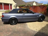 Immaculate BMW E46, 318CI Convertible