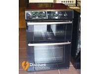 Belling 60cm Ceamic Cooker, Double Oven/Grill - 6 Months Warranty