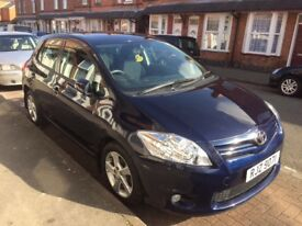 *Immaculate 2010 Toyota Auris TR 1.6 Petrol 5 Speed Manual - Low Miles*