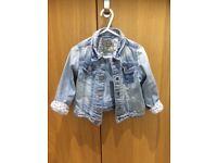 Next girl's denim jacket, 18-24 months