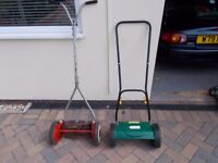 Push Lawn Mowers Choice of Two £15 the pair or £10 each