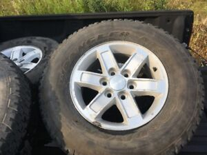 GMC 1500--RIMS AND TIRES---